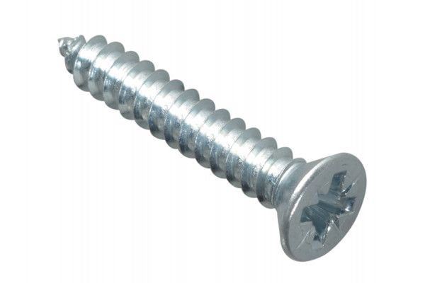 Forgefix Self-Tapping Screw Pozi CSK ZP 1in x 8 Forge Pack 20