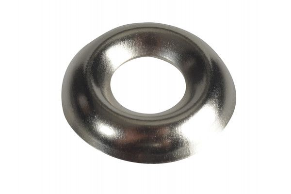 Forgefix, Screw Cup Washers, Nickle Plated