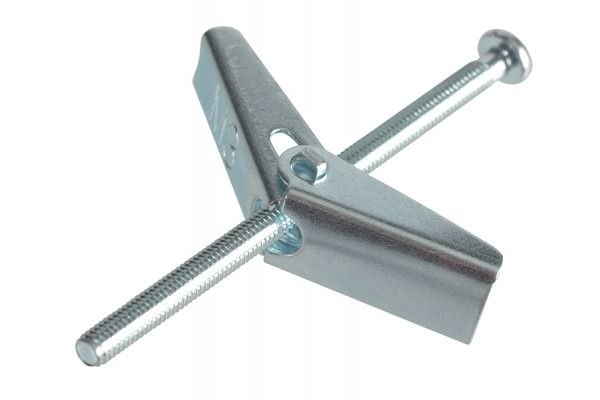 Forgefix Plasterboard Spring Toggle ZP M3 X 50mm Forge Pack 8