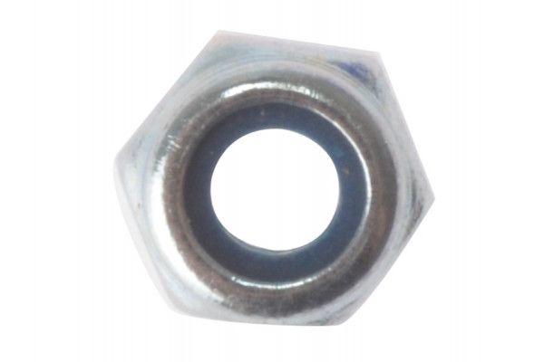 Forgefix Hexagon Nut & Nylon Insert ZP M10 Bag 50