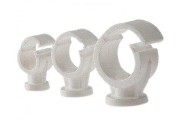 Forgefix Pipe Clip Single Cliplock 22mm Box 100