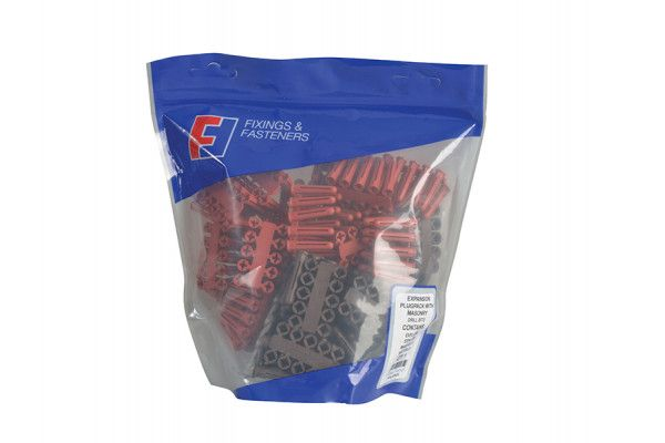 Forgefix Plastic Plug & Drill Kit 402 Piece