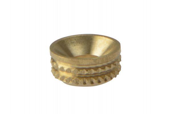 Forgefix, Screw Cup Sockets, Polished Brass