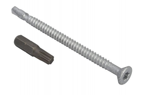 Forgefix TechFast Roofing Screw Timber - Steel Light Section 5.5 x 85mm Pack 50