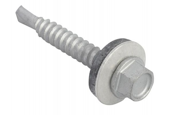 Forgefix TechFast Hex Head Roofing Screw Self-Drill Light Section 5.5 x 38mm Pack 100