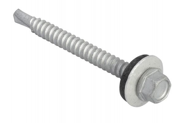 Forgefix TechFast Hex Head Roofing Screw Self-Drill Light Section 5.5 x 57mm Pack 50