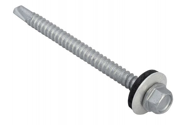 Forgefix TechFast Hex Head Roofing Screw Self-Drill Light Section 5.5 x 70mm Pack 50