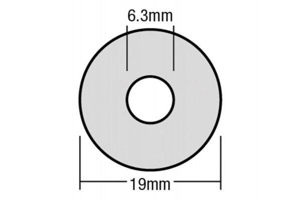 Forgefix TechFast Bonded EPDM Washer 6.3 x 19mm Box 100