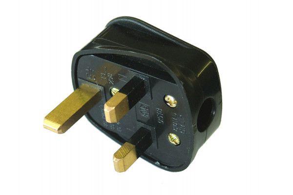 Faithfull Power Plus Black Plug 240 Volt 13 Amp