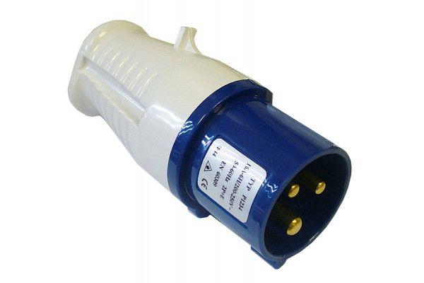 Faithfull Power Plus Blue Replacement Plug 240 Volt 16 Amp