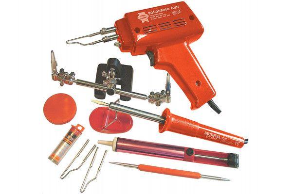 Faithfull Power Plus SGKP Soldering Gun 100 Watt & Iron Kit 30 Watt 240 Volt