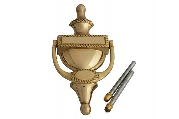 Forge Door Knocker - Georgian Brass Finish 165mm