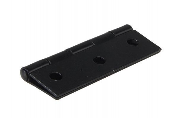 Forge Butt Hinge Black Powder Coated 75mm (3in) Pack of 2