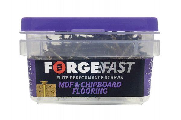 Forgefix ForgeFast TORX® Compatible Flooring MDF Chipboard Screw 4.2 x 55mm Box 200