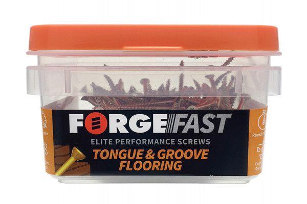 Forgefix ForgeFast TORX® Compatible Flooring Tongue Groove Screw 3.5 x 45mm Box 200