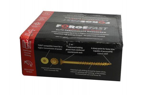 Forgefix ForgeFast Torx® Compatible Wood Screw Pack 1800 Piece