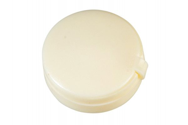 Forgefix Hinged Cover Caps Cream No.6-8 Forge Pack 20