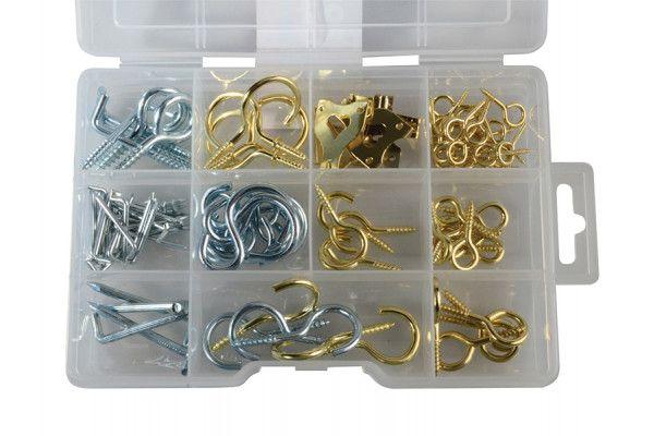 Forgefix Hook & Screw Eye Kit ForgePack 102 Pieces
