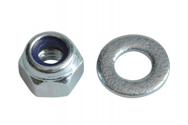 Forgefix Nyloc Nuts & Washers Zinc Plated M3 Forge Pack 60