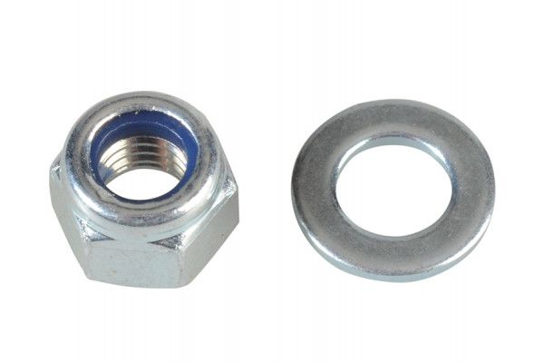 Forgefix Nyloc Nuts & Washers Zinc Plated M5 Forge Pack 40