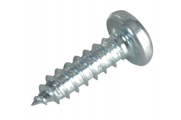 Forgefix Self-Tapping Screw Pozi Pan Head ZP 1/2in x 6 Forge Pack 60