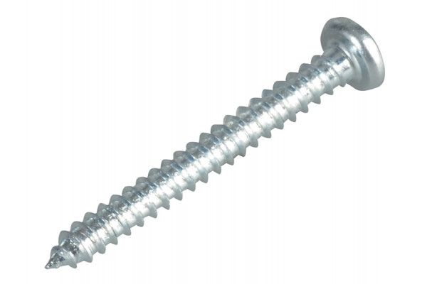 Forgefix Self-Tapping Screw Pozi Pan Head ZP 1in x 4 Forge Pack 40