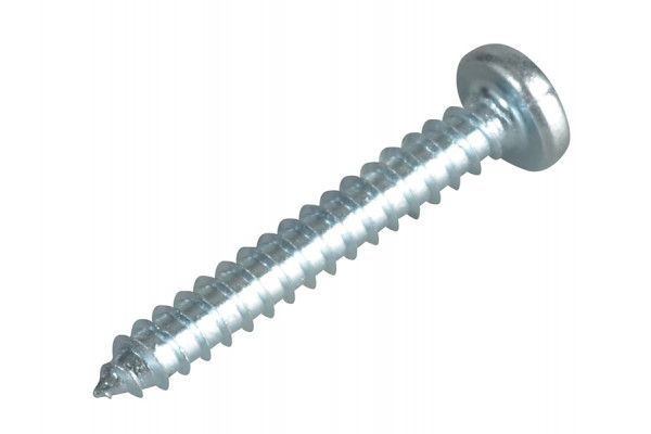 Forgefix Self-Tapping Screw Pozi Pan Head ZP 1in x 6 Forge Pack 30
