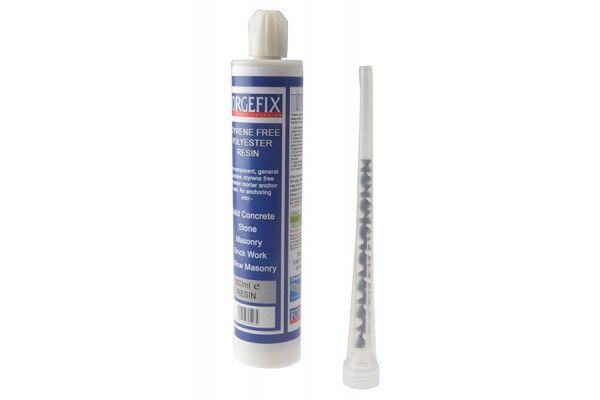 Forgefix Chemical Anchor Styrene Free Resin 300ml Box 1