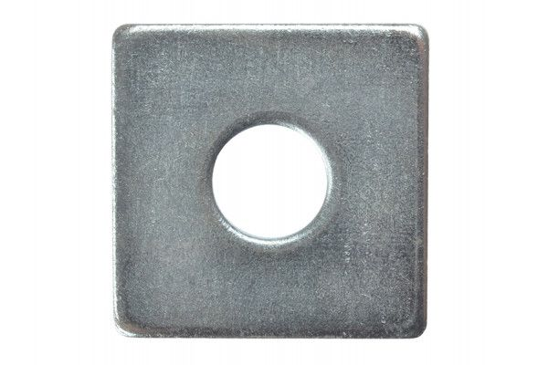 Forgefix Square Plate Washer ZP 50 x 50 x 16mm Bag 10