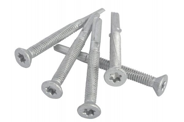 Forgefix TechFast Roofing Screw Timber - Steel Heavy Section 5.5 x 60mm Pack 100