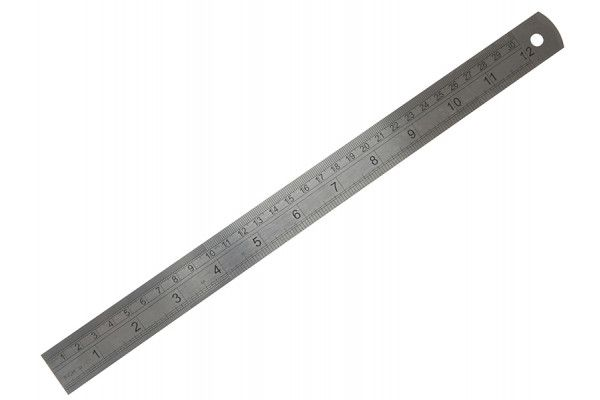 Fisco 712S Stainless Steel Rule 300mm / 12in