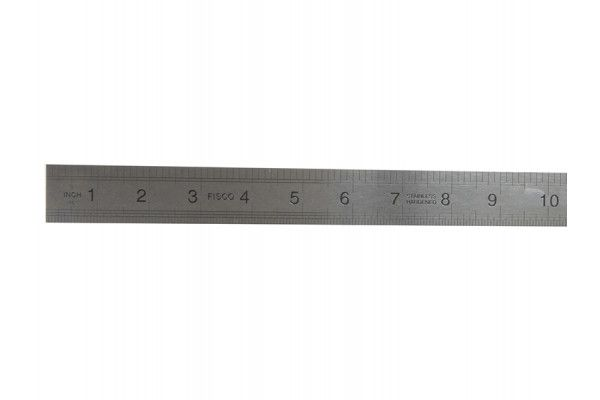Fisco 725S Stainless Steel Rule 600mm / 24in