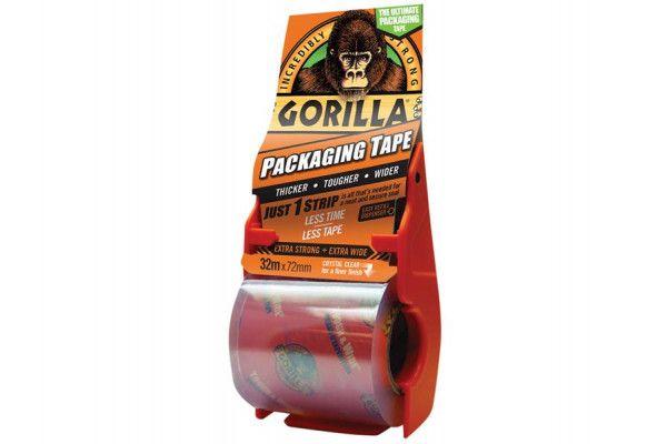 Gorilla Glue Gorilla Packaging Tape 72mm x 32m Dispenser