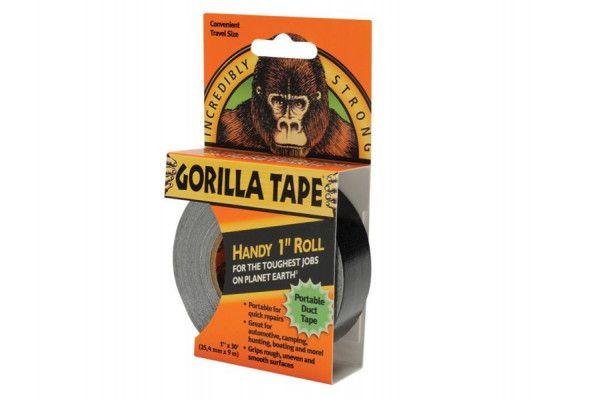 Gorilla Glue Gorilla Tape Handy Roll 25mm x 9m