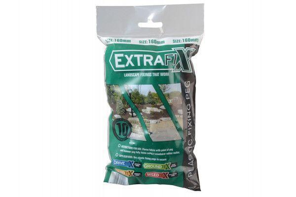 Growtivation Extrafix Plastic Fixing Peg - 10 Pack