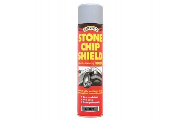 Hammerite Stonechip Shield Grey Aerosol 600ml
