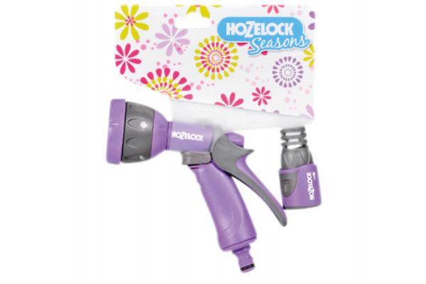 Hozelock Seasons Multispray Gun & Fitting Purple