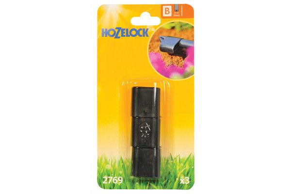 Hozelock End Plug 13mm (3 Pack)
