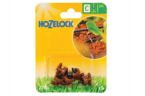 Hozelock In Line Pressure Dripper 4mm (5 Pack)