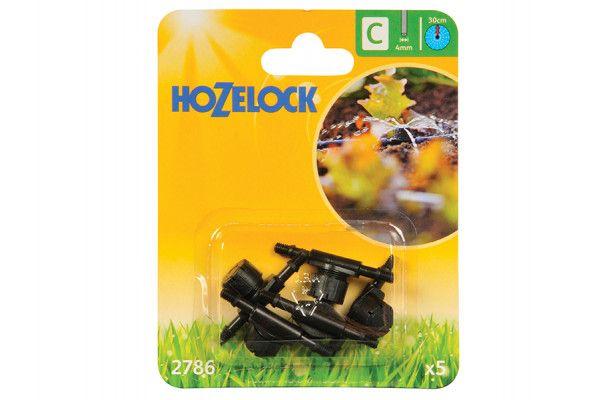 Hozelock In Line Adjustable Mini Sprinkler 4mm (5 Pack)