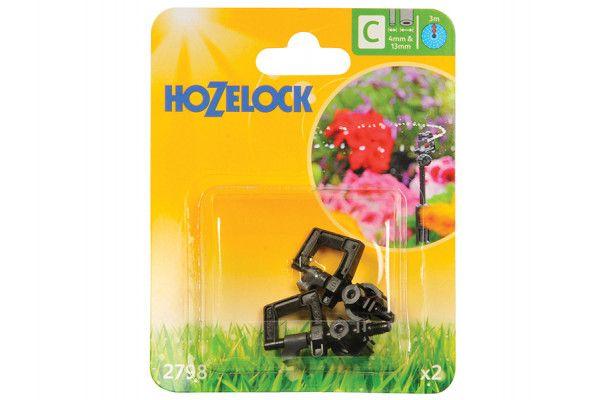 Hozelock Mini Sprinkler 4mm/13mm (2 Pack)