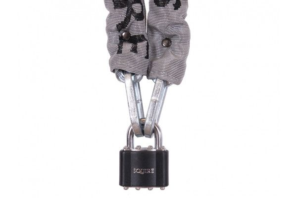 Henry Squire Toughlok Lock & Chain Set 90cm x 5mm