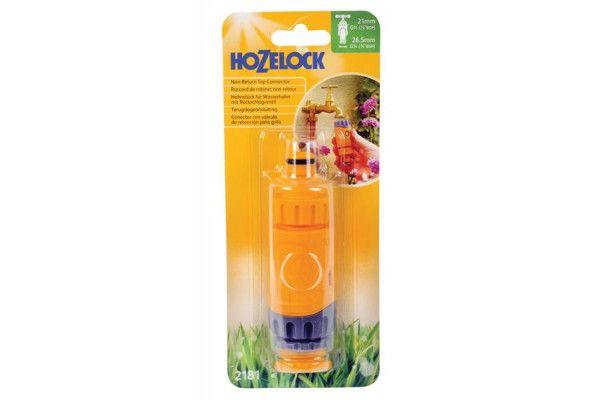 Hozelock 2181 Non Return Valve Tap Connector 1/2 - 5/8in BSP