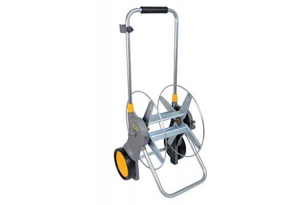 Hozelock 2460 90m Assembled Metal Hose Cart ONLY
