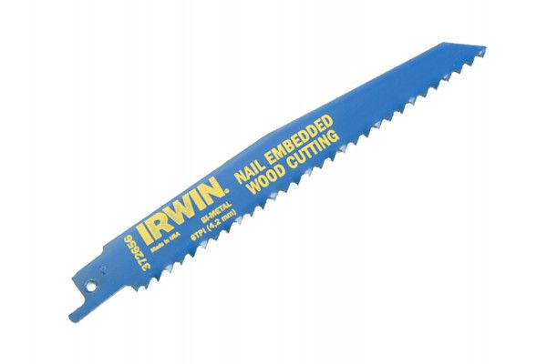 IRWIN, Nail Embedded Wood Reciprocating Blades