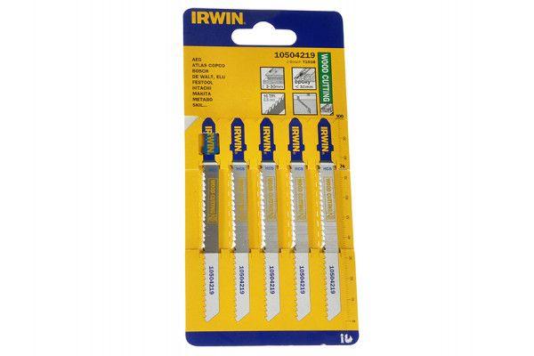 IRWIN Wood Jigsaw Blades Pack of 5 T101B
