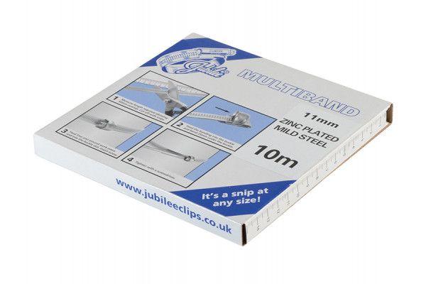 Jubilee® Multiband Mild Steel 11mm 10m Pack