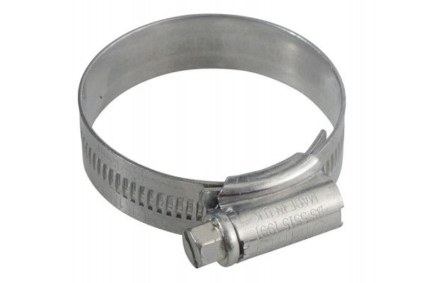 Jubilee® 1M Zinc Protected Hose Clip 32 - 45mm (1.1/4 - 1.3/4in)