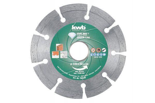 KWB, CUT-FIX® GREEN-LINE Multipurpose Discs