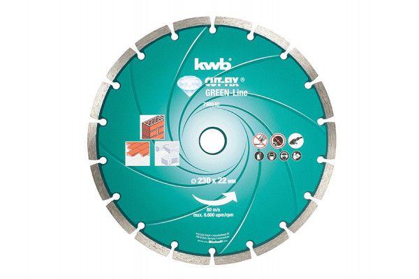 KWB Diamond Cutting Disc 230 x 22mm